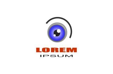 Vision logo. Eye logo template. Brand identity.