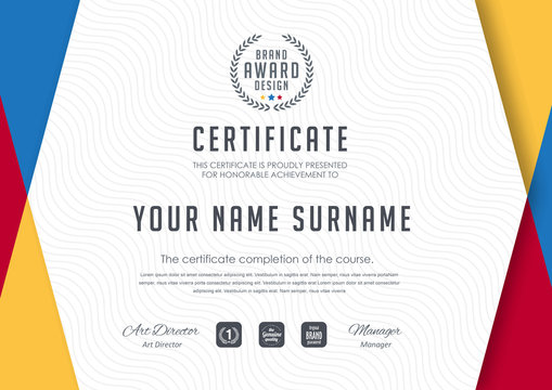 certificate template ,diploma,Vector illustration