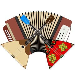 Russian folk instruments