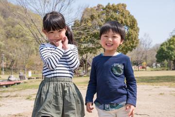 笑顔の子供