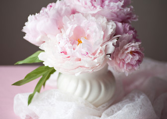 Double Peony Floral Decor