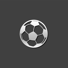 Metallic Icon - Soccer ball