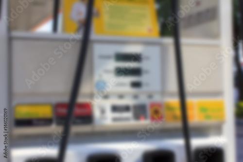 Blur Gasoline price sign - Liter - Diesel, Gasoline (pump, station