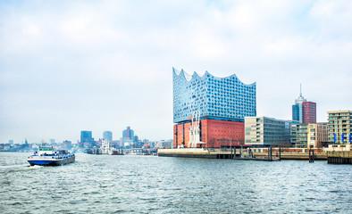 view of Hamburg city
