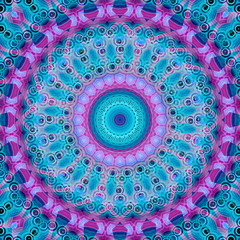 beautiful repeating kaleidoscopic