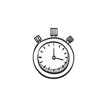 Sketch icon - Stopwatch