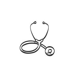 Sketch icon - Stethoscope