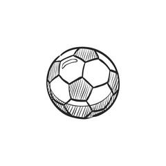 Sketch icon - Soccer ball