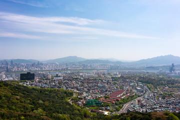 Yongsan from Namsan Observatory