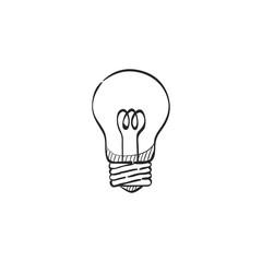 Sketch icon - Lightbulb