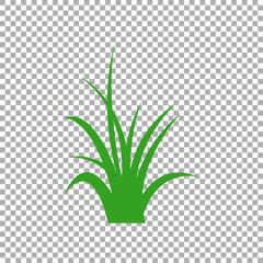 Green grass isolated vector symbol icon design