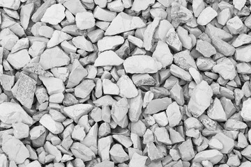 background from stones of mountain rocks - black and white