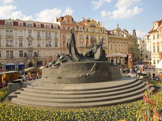 Jan Hus Denkmal, Prag