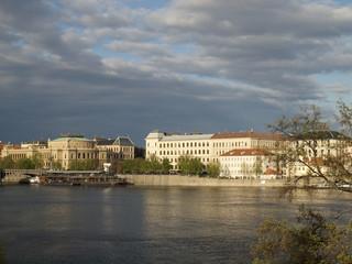 Moldauufer Prag