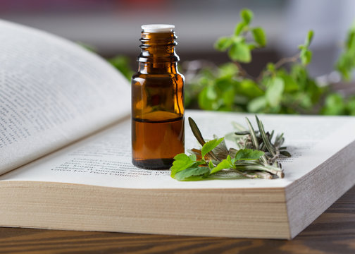 Essential oil and aromatherapy book