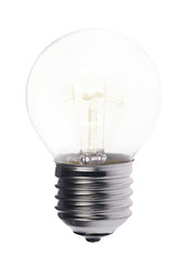 luminescent incandescent electric short lamp