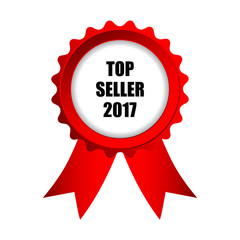 top seller 2017 badge