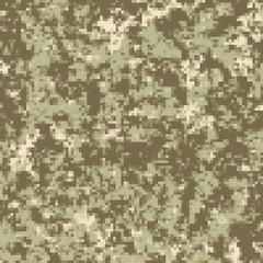 Vector illustration of digital camouflage pattern
