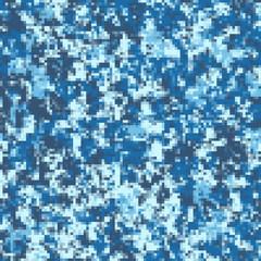 Vector illustration of digital sea water camouflage pattern