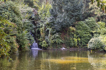 Varese (Italy):  Giardino degli Estensi, historic park