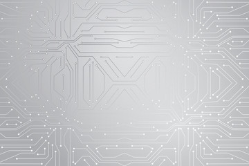 Vector micro chip, micro scheme elements design. Abstract technology, IT thematic background. Future technologies background