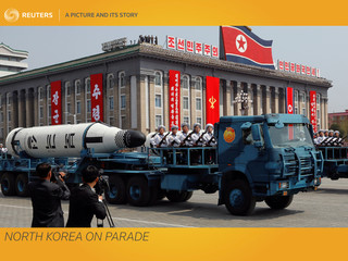 A Picture and its Story: Noth Korea on parade