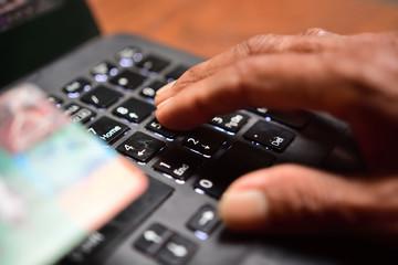 online transaction using credit card