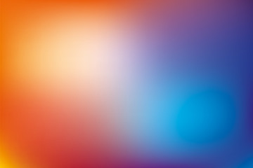 Abstract background, blue and orange mesh gradient, pattern for you presentation, vector design wallpaper