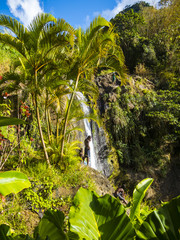 Concord Wasserfälle, Grenada, Kleine Antillen, Karibik, Mittelamerika
