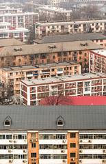 Density of apartment buildings