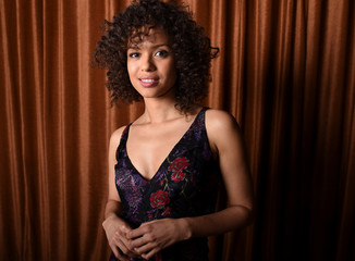 """Beauty and the Beast"" cast member Gugu Mbatha-Raw is photographed in Beverly Hills, California"