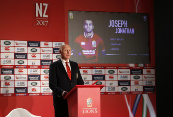 British & Irish Lions tour manager John Spencer as Jonathan Joseph is announced in the squad
