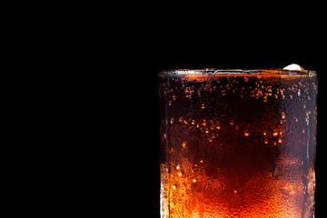 ice cola on black