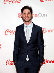 Director Jonathan Levine poses on the red carpet during CinemaCon, a convention of movie theater owners, in Las Vegas