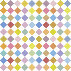 Abstract mosaic pattern background with a lot of colourful rhombus