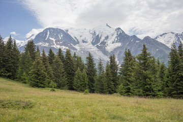 Taken on the Tour du Mont Blanc Trek that takes hikers through France, Switzerland, and Italy