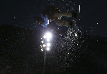 Snowboarding - FIS Snowboarding and Freestyle Skiing World Championships - Men's Big Air