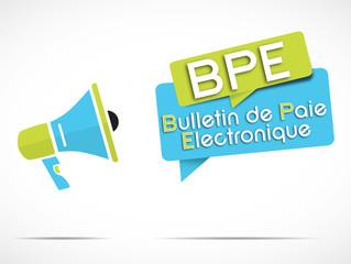 mégaphone : BPE