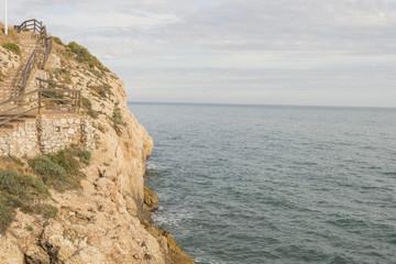 Details of the coast of Malaga