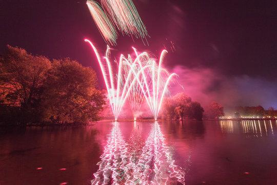 Fireworks in St albans