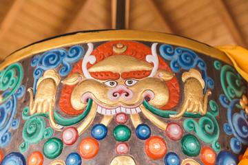 Design on Tibetan Prayer Wheel