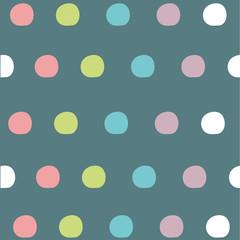 seamless pattern-cute colorful dots