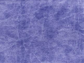 Blue color artificial leather texture.