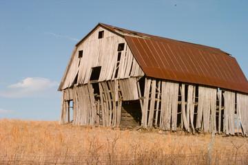 Old Barn in a field in Arkansas