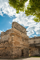 View of 'the Church' a Mayan ruin at Chichen Itza, Mexico