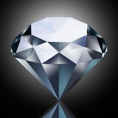 diamond isolated on the background. gem, jewel, precious stone, precious gem, , precious jewel
