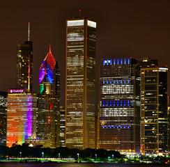 Fototapete - Pride Weekend in Chicago