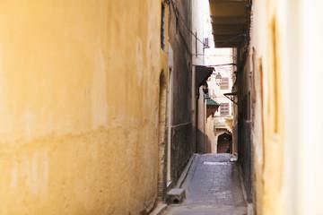 Fez streets, Morocco.