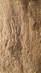 alien stone art petrogliphes