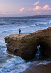 Love at Sunset Cliffs